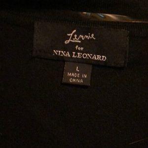 Nina Leonard Tops - Shoulder cover up